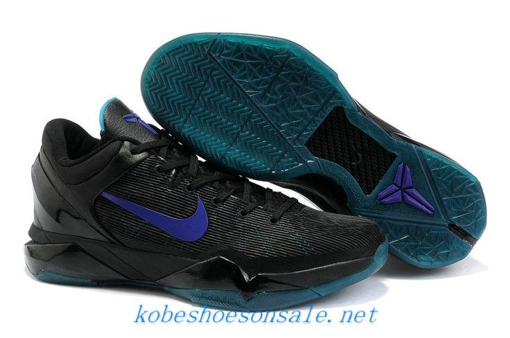 nike zoom kobe 7 black purple moon royal blue 488371 102