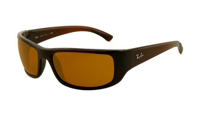 $19.88! #Ray #Ban #Sunglasses Ray Ban RB4176 Sunglasses Brown Frame Deep Brown Polarized Lens