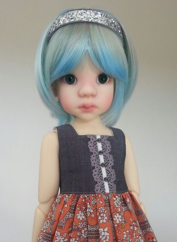I love Paris dress set for Kaye Wiggs bjd, $45.00