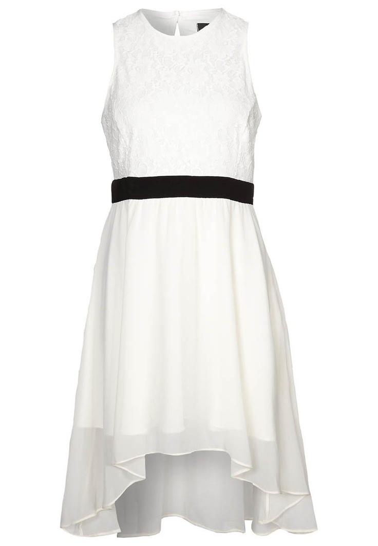 HI Low Lace Dress - Cocktailkjoler / festkjoler - hvid