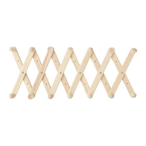 for entry way IKEA - RYSSBY 2014, Wall-mounted coat-hanger, The width can be adjusted to suit your needs.