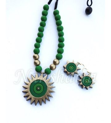 Terracota, Jewellery, Handmade