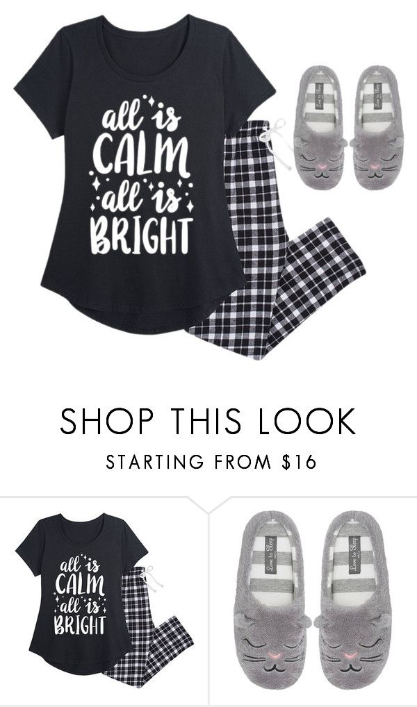 """""""outfit de pillama"""" by luzpineda on Polyvore featuring M&Co y plus size clothing"""