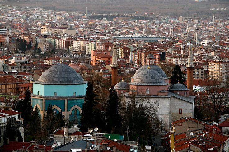 Yeşil Camii, Bursa, Northwest Turkey