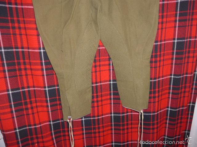 Militaria: Antiguo raro pantalon breches republicano, pantalones de guerra civil…