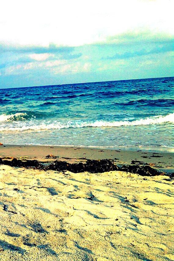 iPhone Wallpaper Beach Ocean Photography by beachbumchix, $2.00