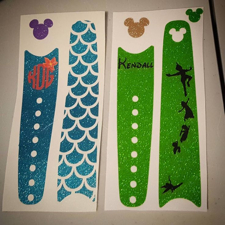Got my first order for Magic Band decals because someone saw my IG of my own…