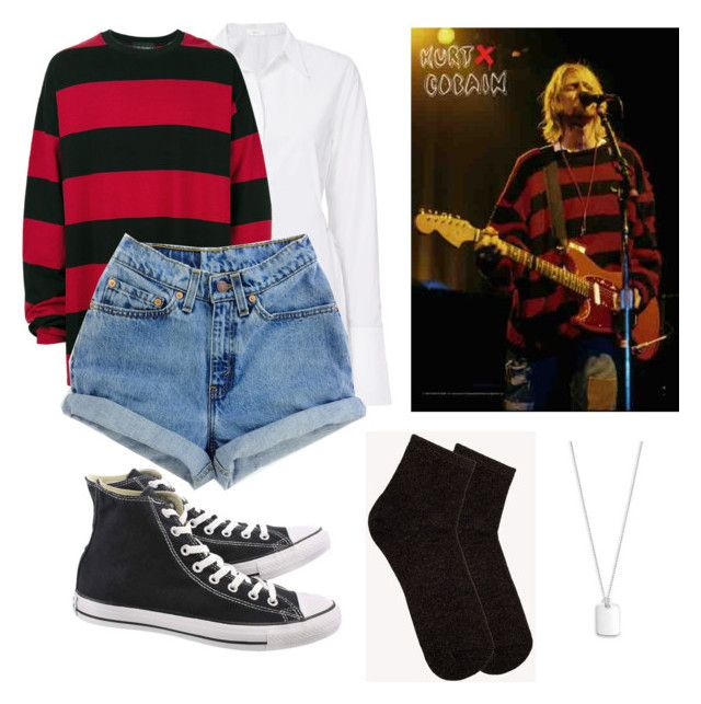 Kurt Cobain Inspired Outfit for Girls