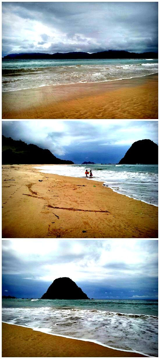 red island beach banyuwangi,east java, Indonesia - exploration site. Not crowded. Beach break.