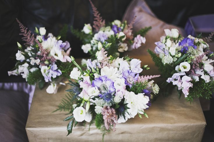 Gorgeous bouquets for the bridal party