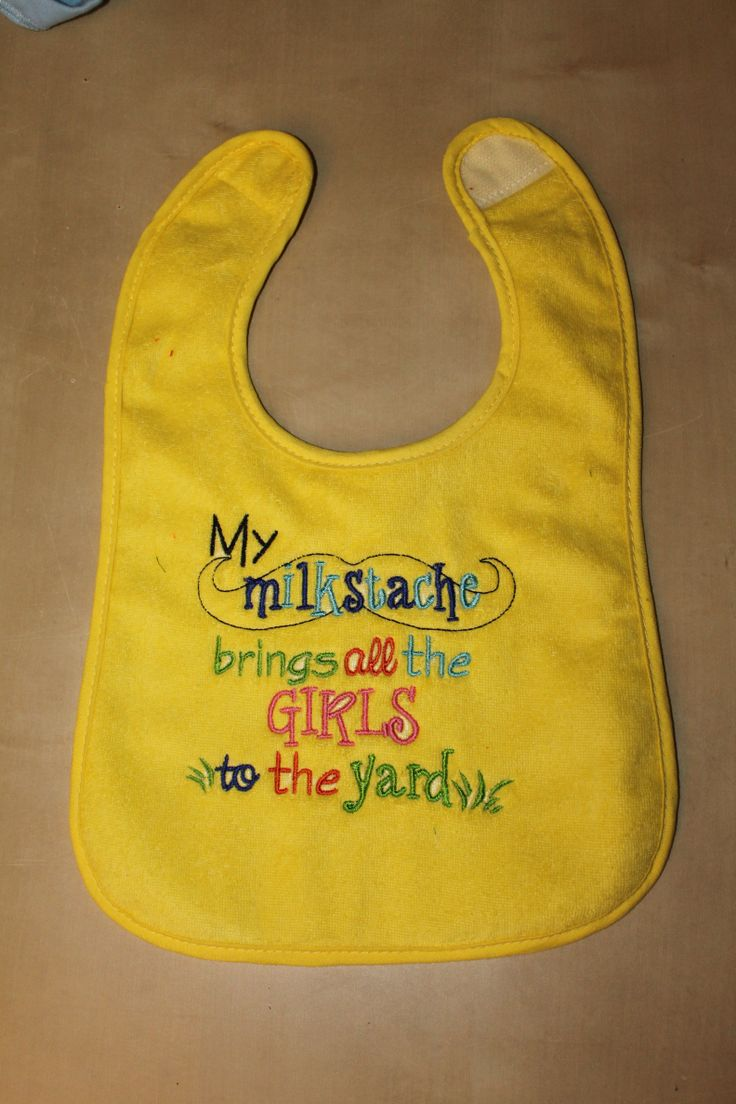 Really love the colour of this bib and the design embroidered on it. info@anna-banana.com.au www.facebook.com/annabananafa