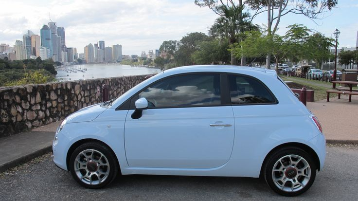 Baby blue Fiat 500- One of my favourite colours!!