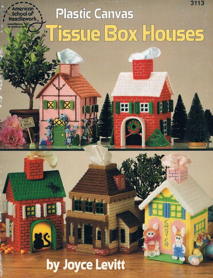 Pc Tissue Box Houses By Joyce Levitt Front Cover