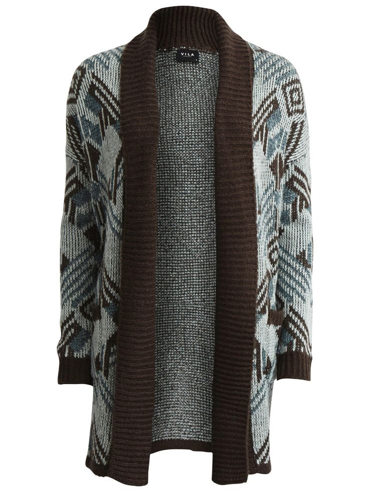 VISOLA - OPEN KNITTED CARDIGAN #vilaclothes #clothes #cardigans #cardigan #warm #autumn #nice #knit