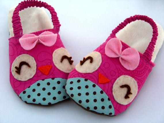 Kids Slippers  http://www.etsy.com/listing/79419399/owls-chicks-kids-slipper-pdf-sewing