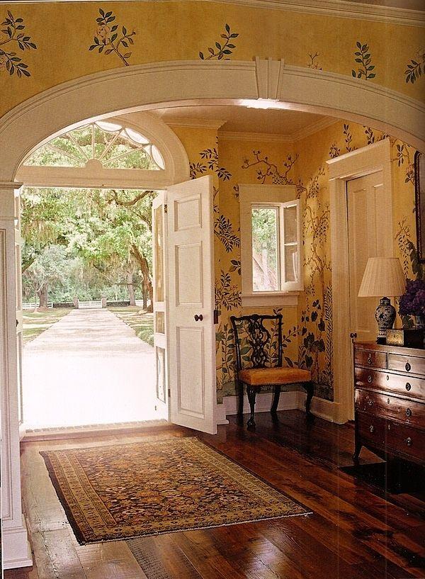Foyer Wales Home : Thomas jayne south carolina entrance french tuscan