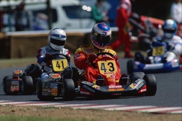 1997World Kart ChampionshipSuzuka South course  Jenson Button