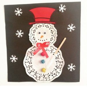 Recycled snowman craft idea for kids | Crafts and Worksheets for Preschool,Toddler and Kindergarten
