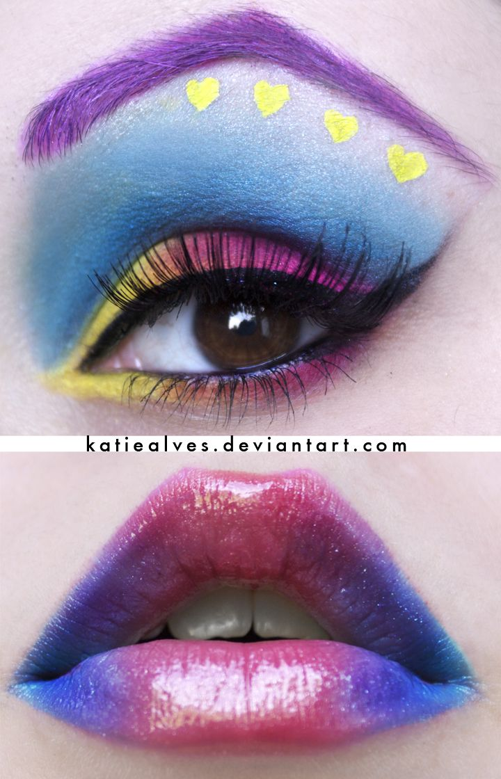 I can get away w this on a Wednesday ;): Limes Crime, Katiealv Deviantart, Eye Shadows, Color, Diamonds, Beautiful, Heart Colour, Makeup Ideas, Eyeshadows
