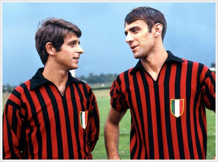 1968 : Gianni Rivera et Pierino Prati