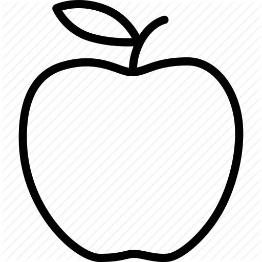 outline of an apple google search tt pinterest clip art apples and oranges clip art apples and pears