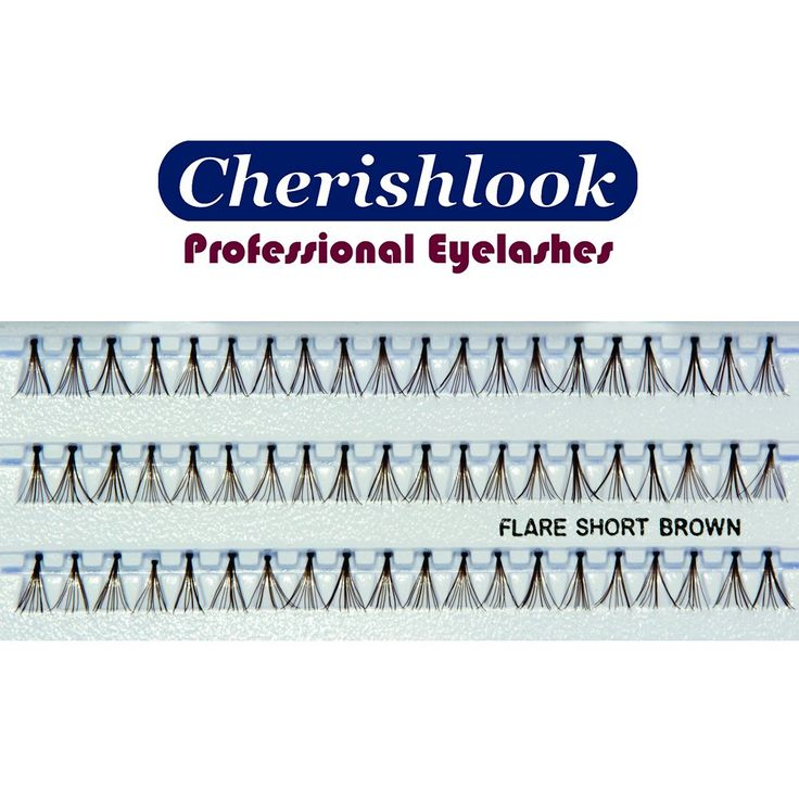 Cherishlook Professional 10packs Eyelashes - Flare Short (Brown). Cherishlook Professional Eyelashes are The Best Quality Eyelashes Available in the Market. Cherishlook Professional Eyelashes are Used and Preferred by Most Professionals and Consumers. Our Cherishlook Professional Eyelashes are the Only Authentic Merchandise of Cherishlook Store. We Only Guarantee the Best Quality with CHERISHLOOK logo on the package.