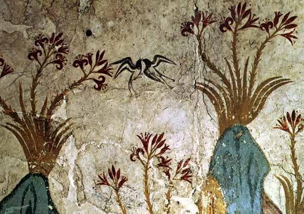 """Résultat de recherche d'images pour """"fresque de Crète"""""""