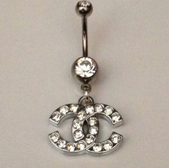 COCO CHANEL BELLYBUTTON RING on The Hunt