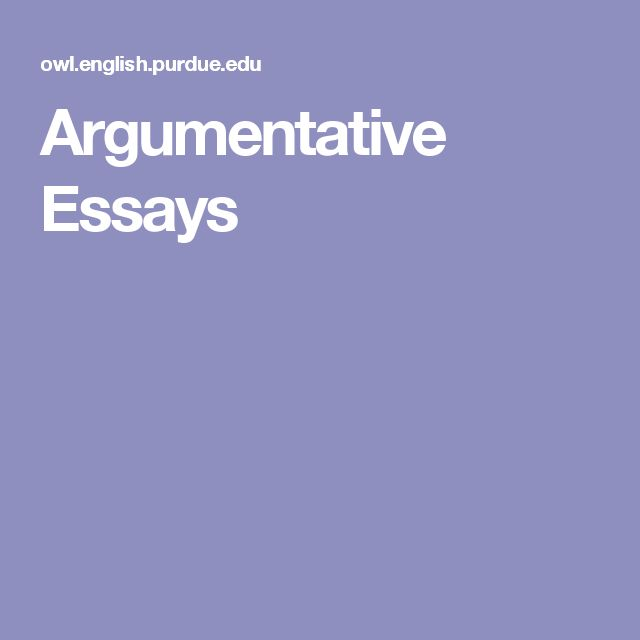 good words argumentative essay