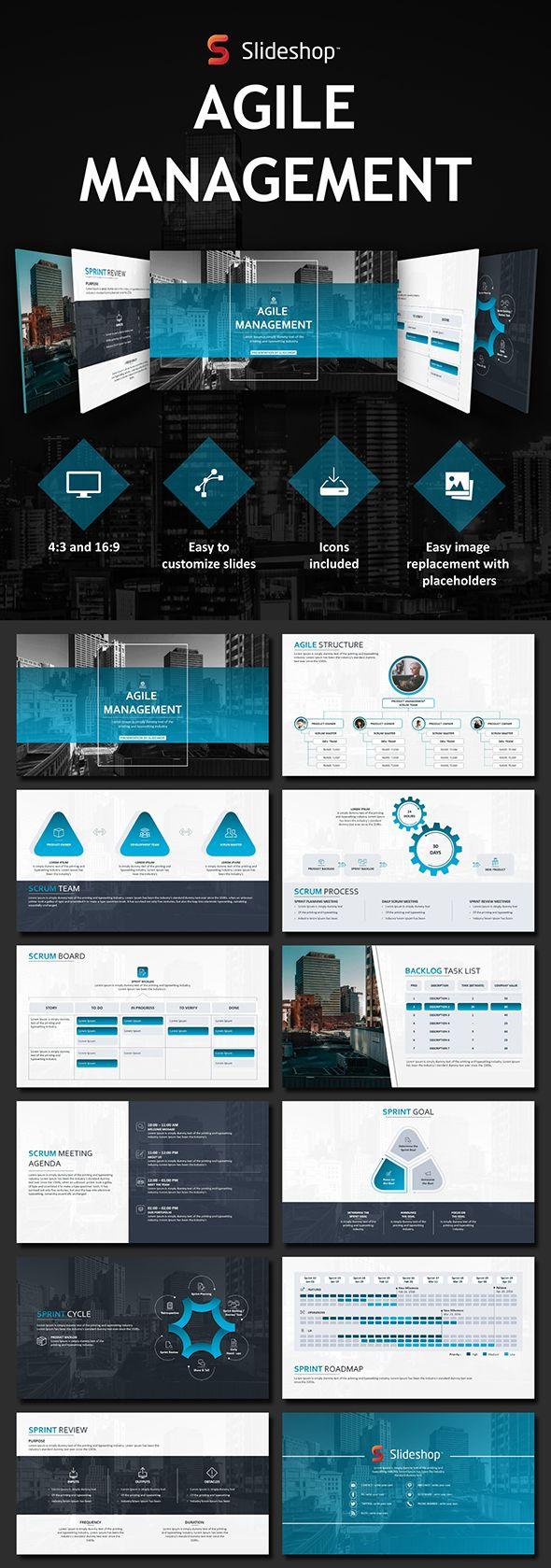 Agile Management - PowerPoint Templates Presentation Templates