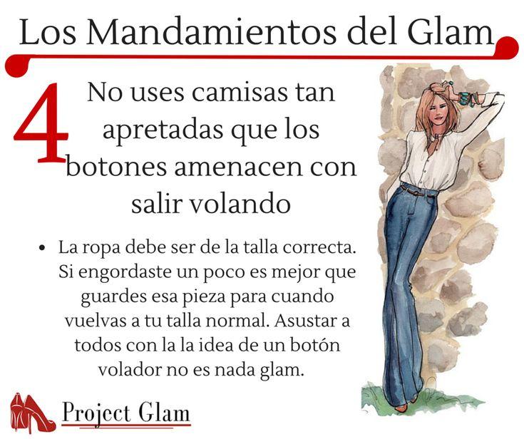 Los mandamientos del glam                                                                                                                                                                                 Más