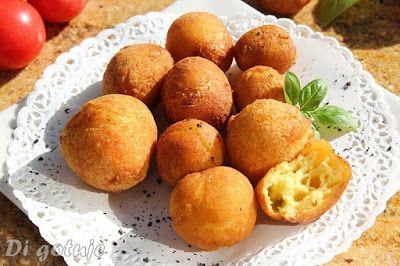 Di gotuje: Ziemniaki Dofinki (Dauphine) - ptysie ziemniaczane...