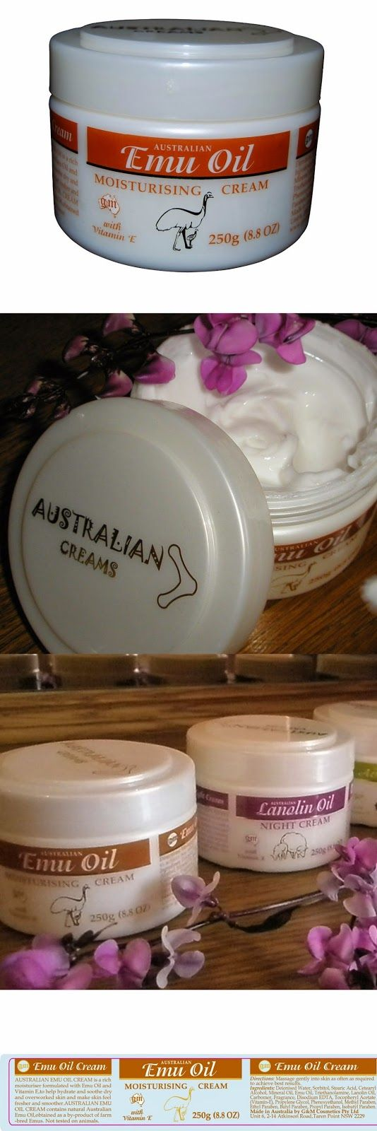 Emu Oil Cream with Vitamin E -Super Strength 8.8 -Ounce $14.99