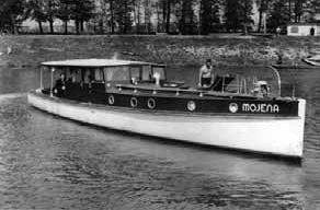 """Výletní motorová loď """"Mojena"""""""