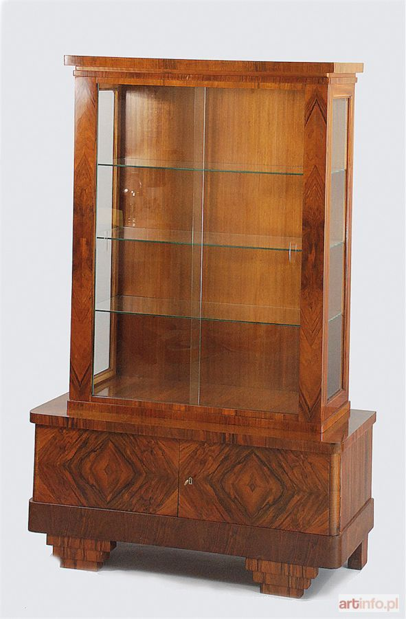 Aukcja katalogowa, 226 Aukcja Dzieł Sztuki i Antyków, , Serwantka art deco