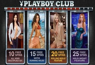 Playboy online slot was released six months after the launch of Playboy Live Dealer, the world's first branded live dealer studio. The game rewards players with skilfully hand-painted graphics, an original musical score and sumptuous free spins bonus, which takes players on the ride of their lives as they journey through The Playboy Club with Kimi, Sofia, Ashley and Jillian, each of whom delivers a different combination of spins, multipliers and features.