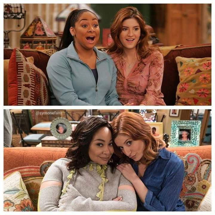 """169 Likes, 3 Comments - Raven-Symoné (@symonefans) on Instagram: """"Some things never change ❤ That's so Raven (2007) -  Raven's Home (2017)"""""""