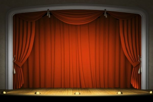 Set the stage for a great year READ  Living the Library Life  Stage curtains Curtains Red