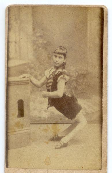 Circus Folk ~ 1870 Ella Harper - Camel Girl Da Fuk??