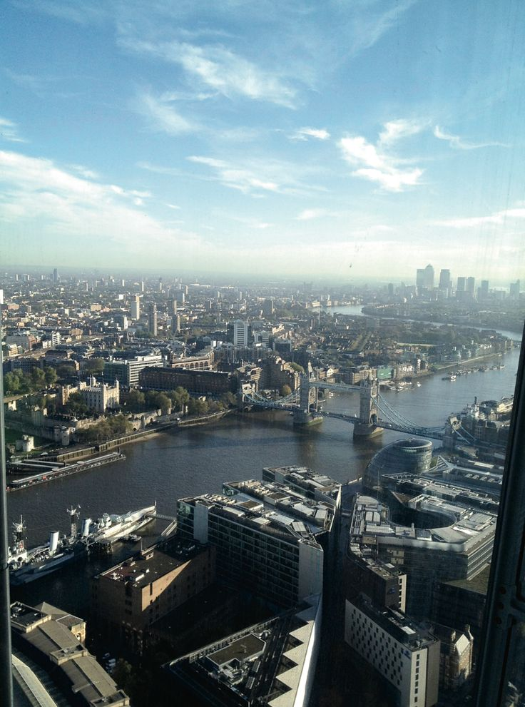 London's iconic skyline along the River Thames.