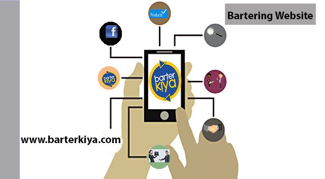 Barterkiya is one of the classified sites that allows users to post their used goods and to exchange them.