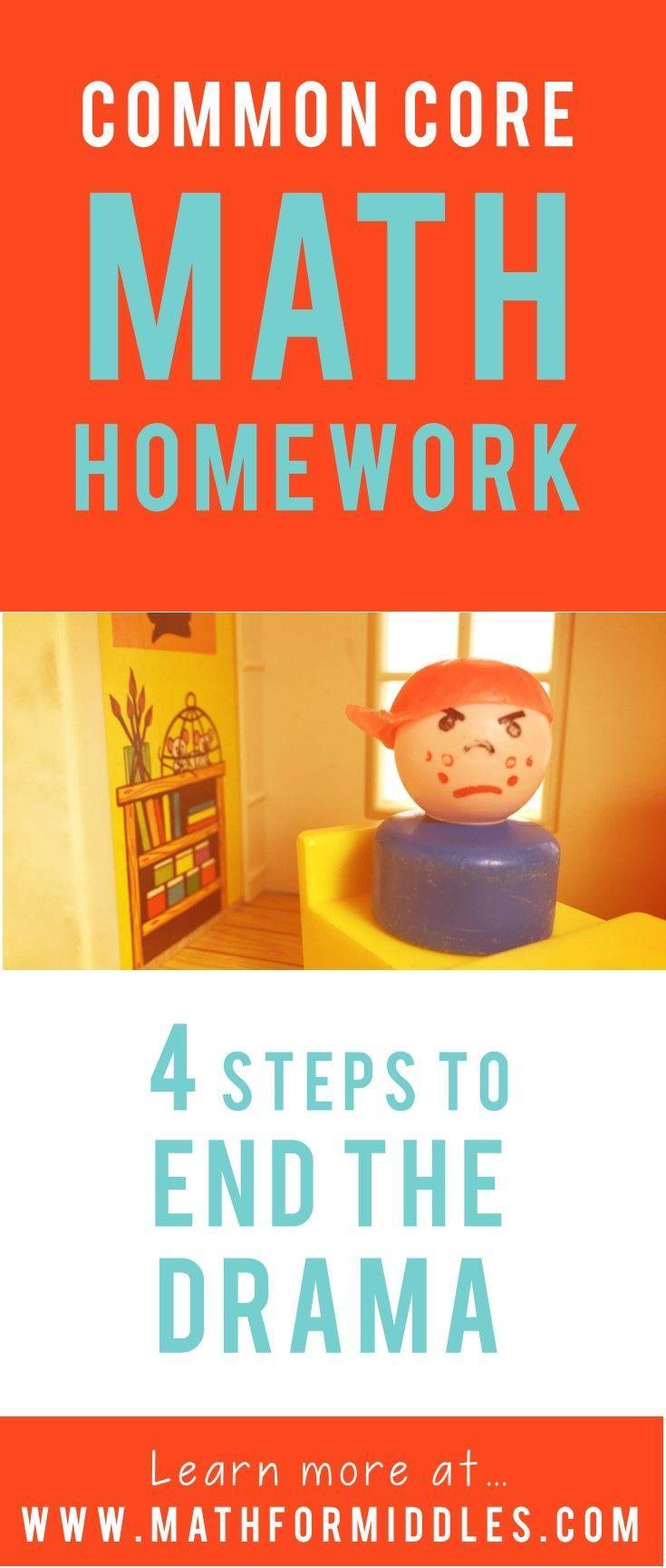 Understanding Common Core Math Homework in Middle School #parenting #middleschool #commoncore