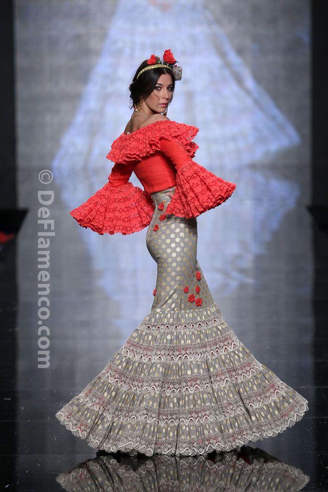 Fotografías Moda Flamenca - Simof 2014 - Atelier Rima 'Lluvia de Flores' Simof 2014 - Foto 15