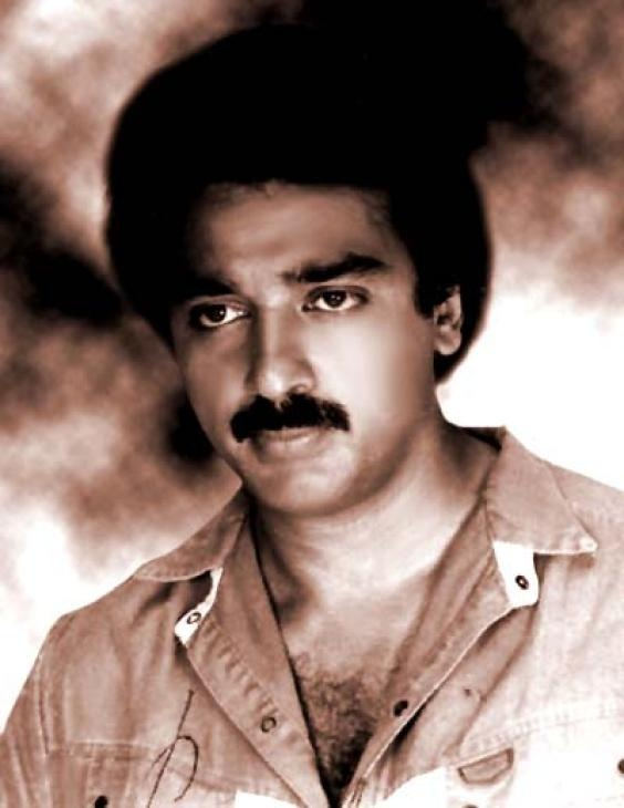 """Kamal Hassan. Probably not the best photo here, but among the bolder actors of Indian cinema with films like """"Sadma"""" and the Oscar-nominated silent film, """"Pushpak""""."""