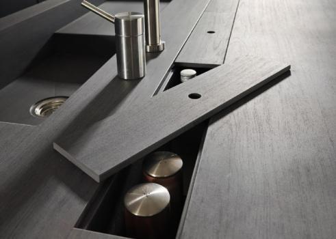 Design di Cucine, bagni e soggiorni moderni MODULNOVA - Progetto 01 - Foto 6