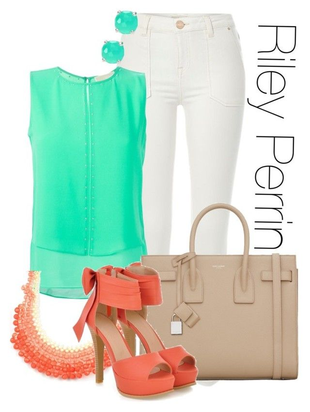 Riley Perrin - Baby daddy by libbysfashion on Polyvore featuring MICHAEL Michael Kors, River Island, JY Shoes, Yves Saint Laurent, Emi Jewellery and Ippolita