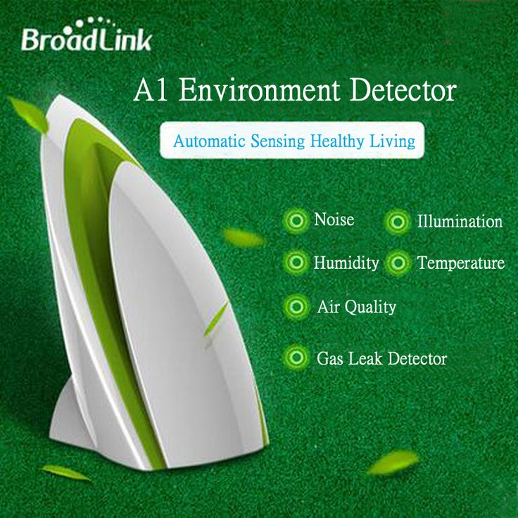 Broadlink A1 E-Air Air Switch Quality Detector Filter Testing Air Humidity PM2.5 APP Control by WIFI/Infrared Home Automation