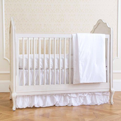Summer Classic Bedding Set with Adjustable Crib Skirt, Swiss Dot, 4 Piece Summer Infant http://www.amazon.com/dp/B00IQBQNR4/ref=cm_sw_r_pi_dp_jIWLtb0ZSTFZ10TA