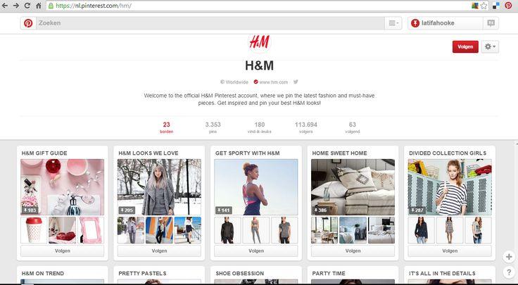 H&M toont duidelijk waar ze voor staan, en de borden representeren hun verschillende thema's, aanbiedingen en welke doelgroep zij vooral willen bereiken. De pagina is vooral zeer fris, kleurrijk en straalt jeugdigheid uit. Op de borden vindt je vooral hun collecties terug, en uiteraard de nieuwste trends.