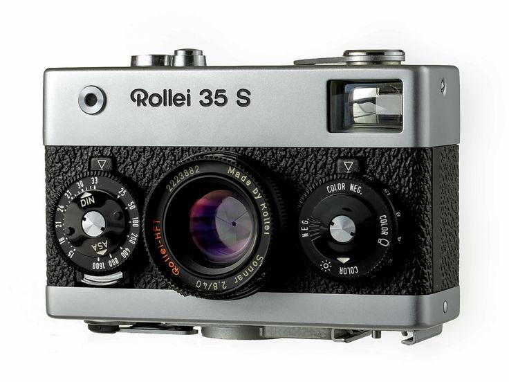 Rollei 35 S 35mm Camera Sonnar Lens & 121BC Flash Mint - Film Cameras